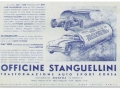1947. An advertising leaflet published by the Officine Stanguellini.