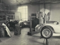 The racing department in Via Schedoni contained a bodywork sector.
